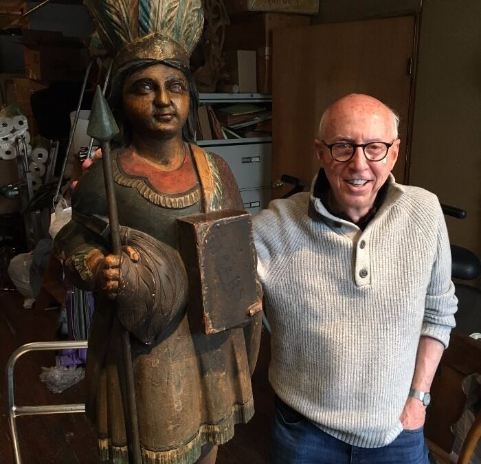 "The ""Chief"" of Cigar Store Indians and Other Amazing Folk Art:  A Conversation with Allan Katz"