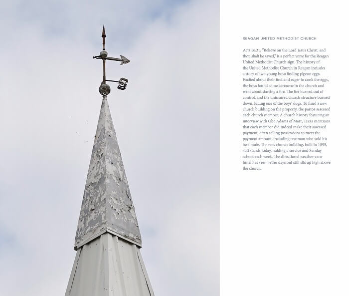 Steeples of Texas Melissa Macatee Coffee Table Book