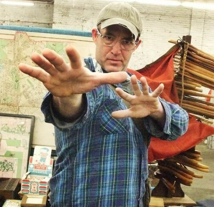 Art Dealer: Introducing The Professor, Josh Lowenfels