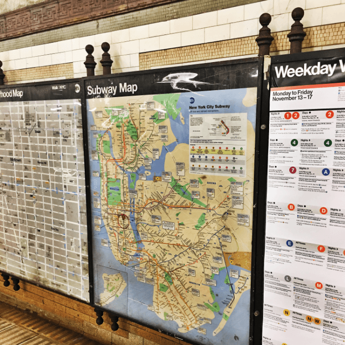 New York City Navigating Subway Map.Nyc Subway Guide An Easy Step By Step Guide