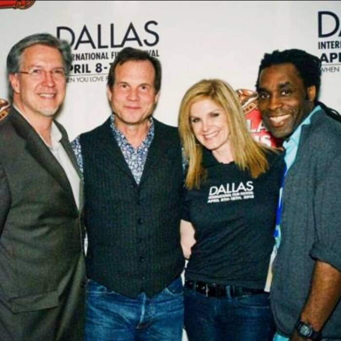 James Faust, Michael Cain, Bill Paxton, Tanya Foster