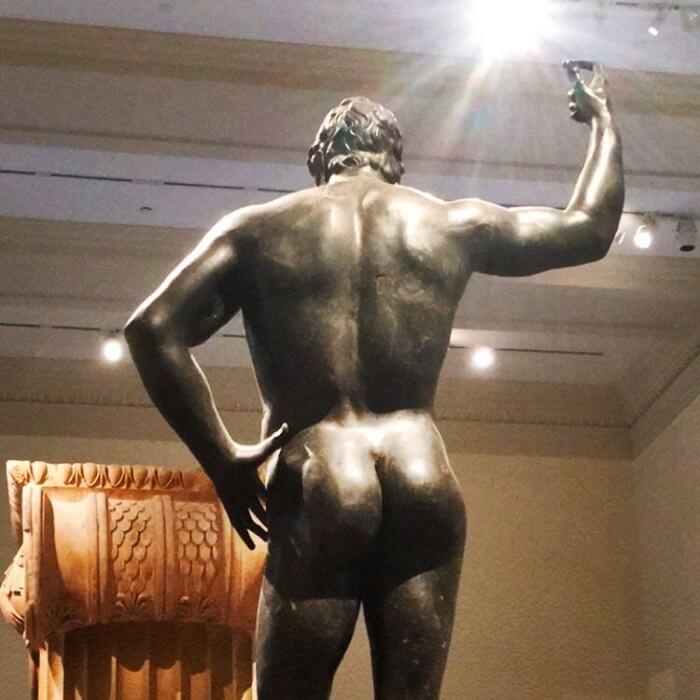 Metropolitan Museum of Art Bronze Nude