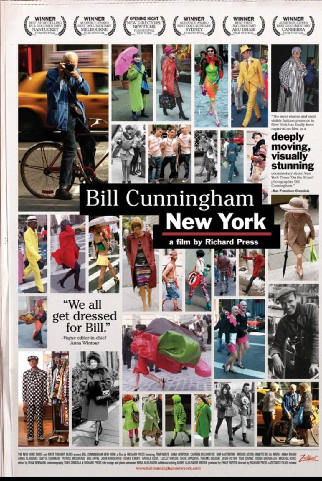 Documentary Films Bill Cunningham