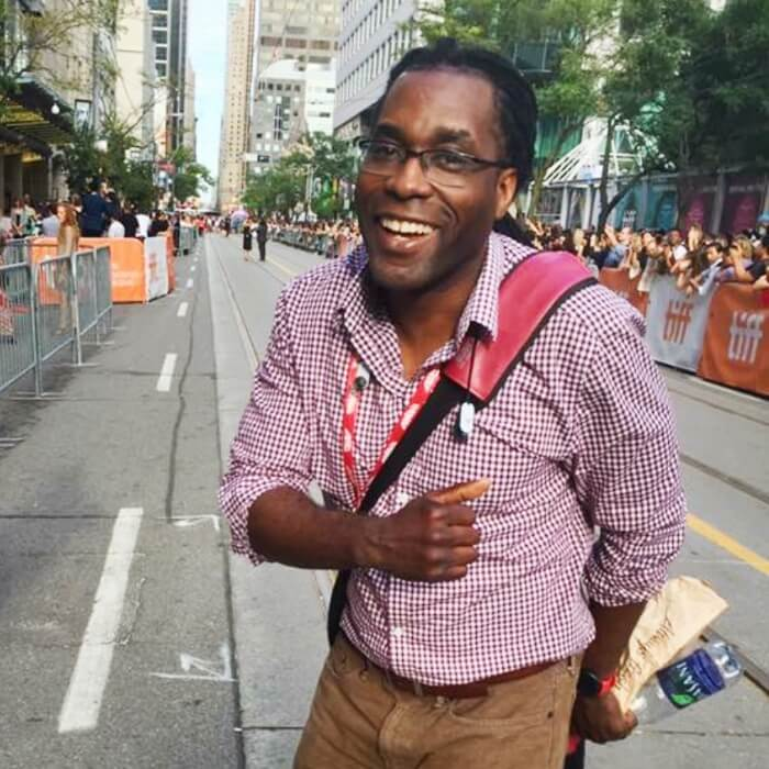 James Faust at TIFF