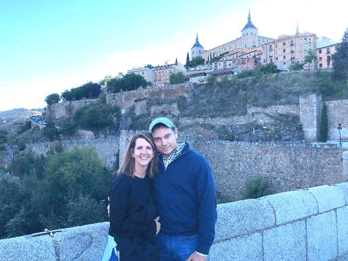 Melanie Lake and Chris Lake in Spain