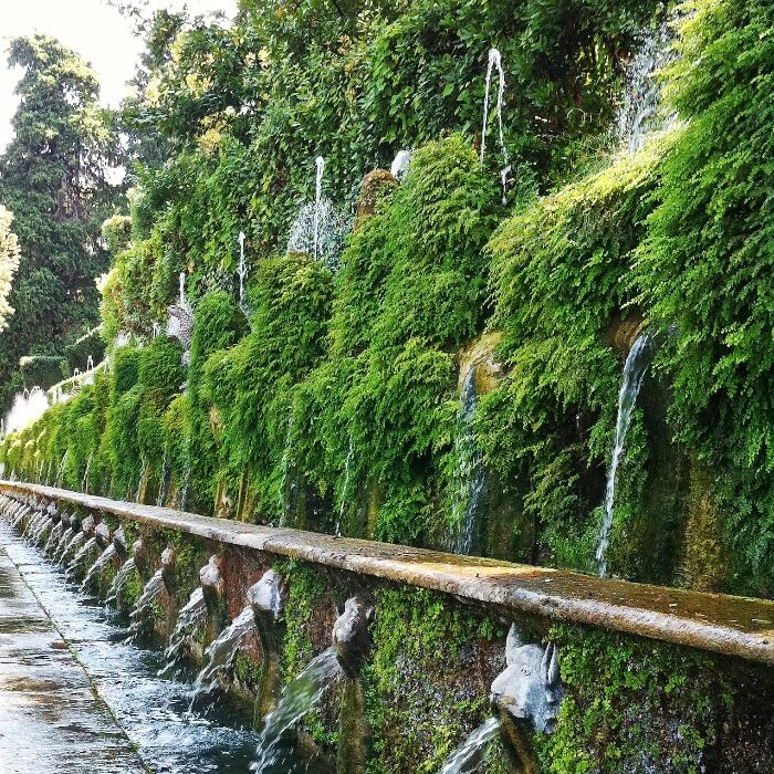 Tivoli Villa D'Este fountains