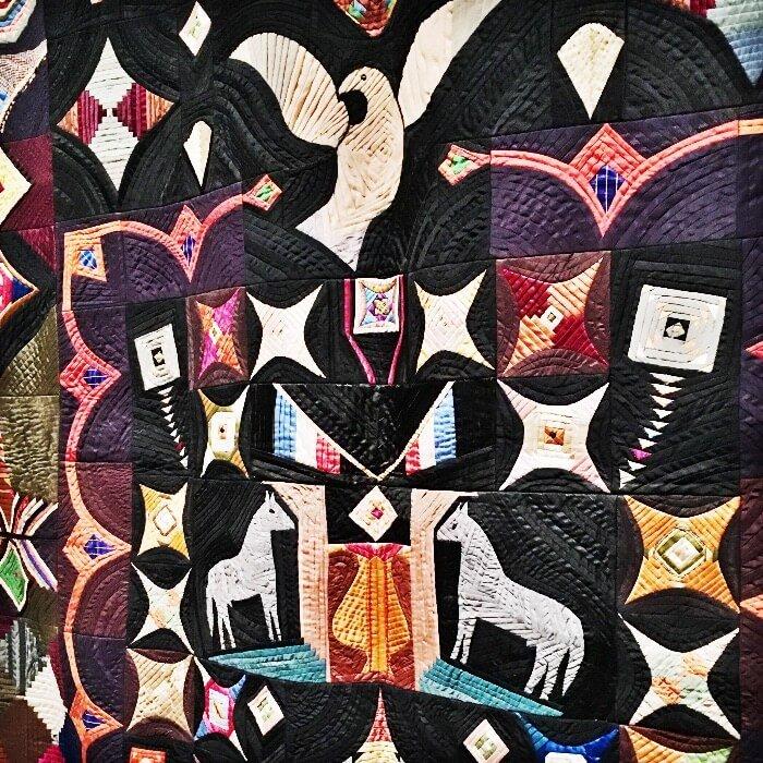 American Folk Art Museum Quilt detail