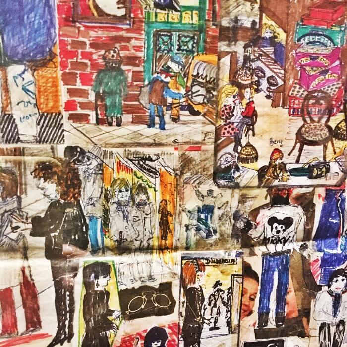 American Folk Art Museum Art Detail