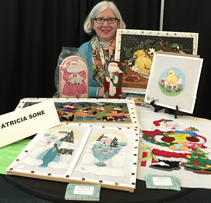 Meet the Delightful Patricia Sone:  Accomplished Needlepoint Artist and Teacher