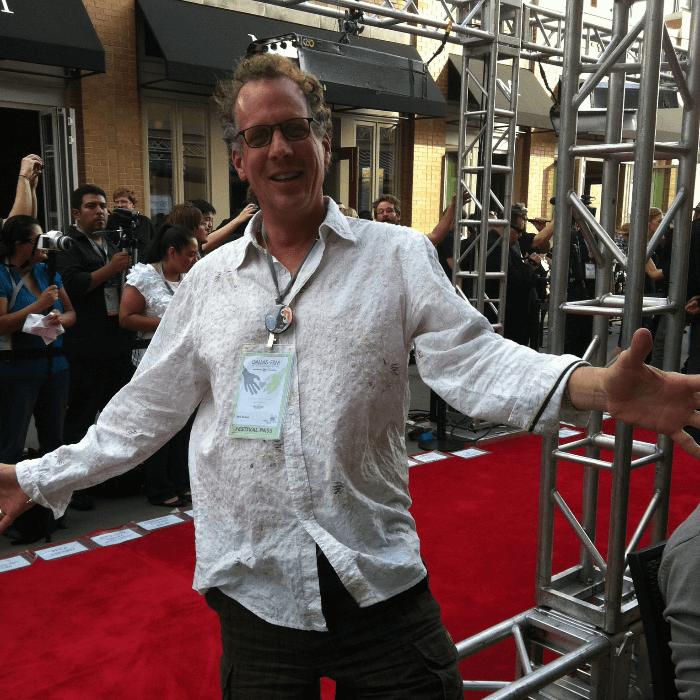 Fabulous Festing B D Style Dallas Film Festival Will Evans on red carpet