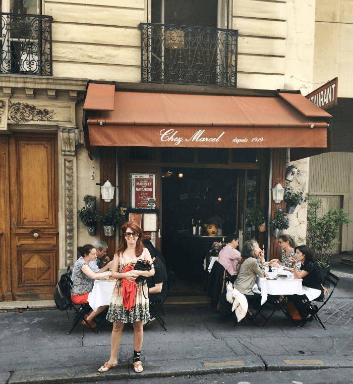 Stretchy Pants Chez Marcel Paris