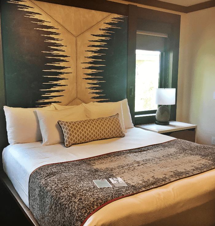 Getting Back to Nature Walt Disney World Resorts bedroom interior