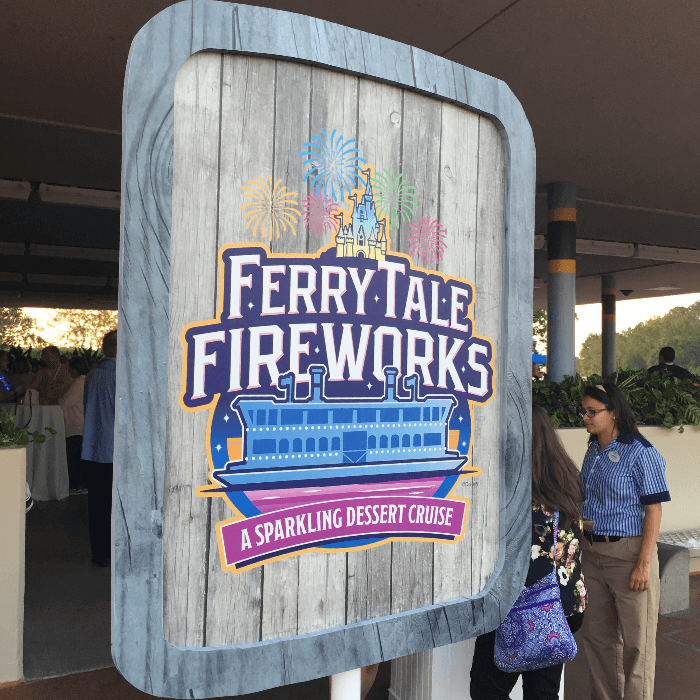 Disney Magic Walt Disney World Resorts Ferry Tale Fireworks Sign