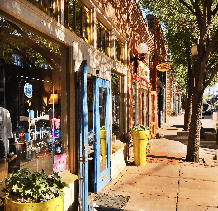 """Bishop Arts Dallas….A """"Shop Local Gem"""""""