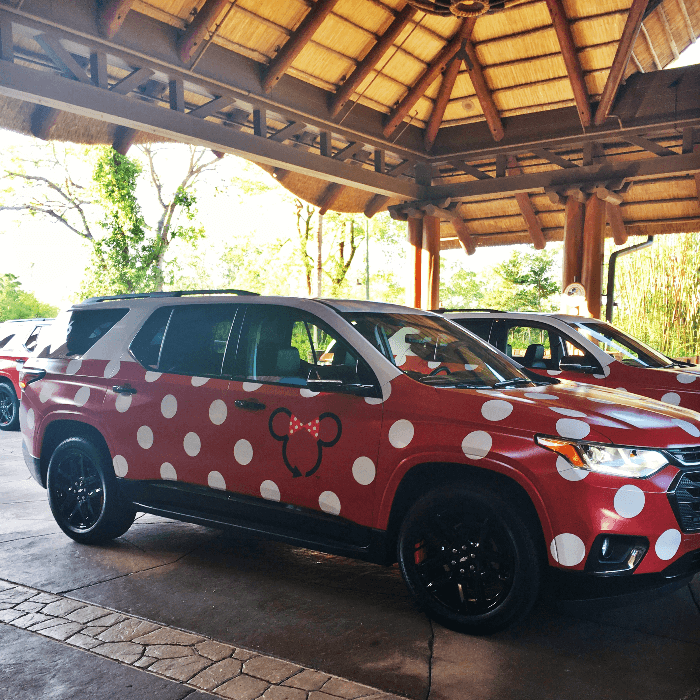 Disney Magic Walt Disney World Resorts Minnie Van