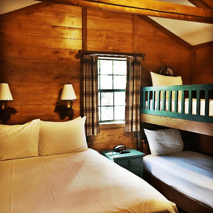 Getting Back to Nature Walt Disney World Resorts Fort Wilderness bedroom