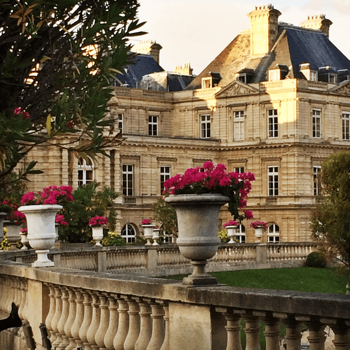 Luxembourg Gardens Flower Pots