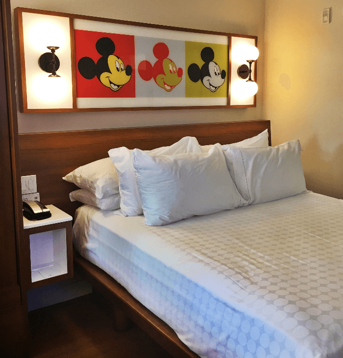 Disney Magic Walt Disney World Resorts Pop Century Room