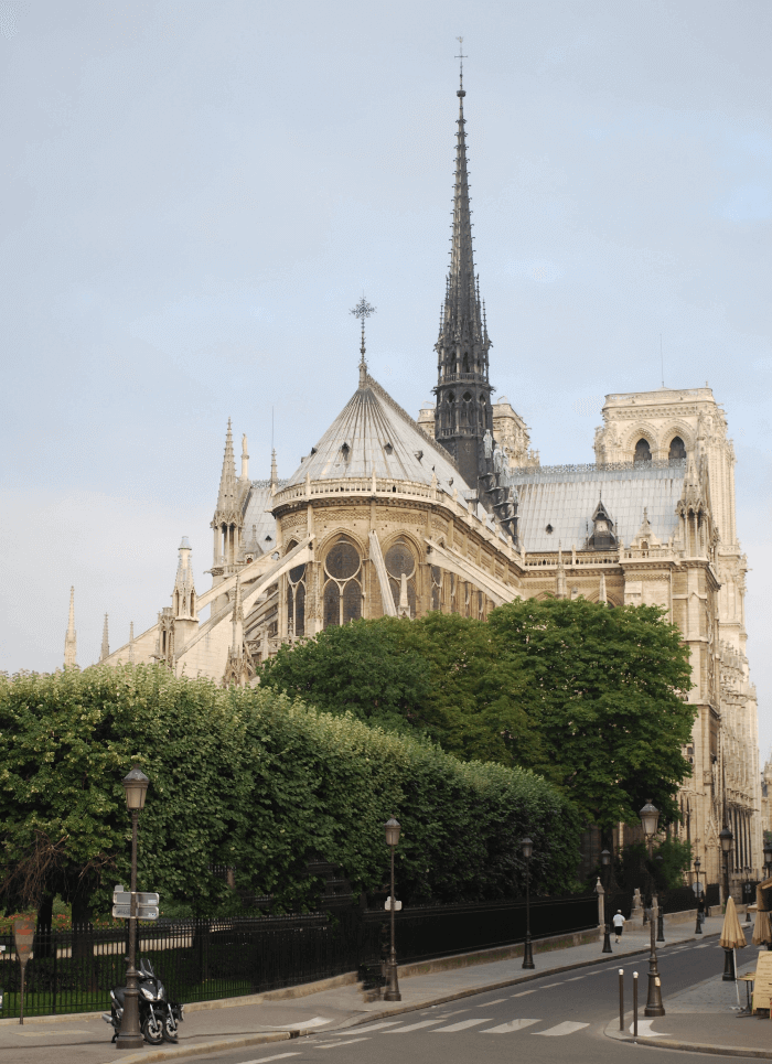 Notre Dame Cathedral Flying Buttresses