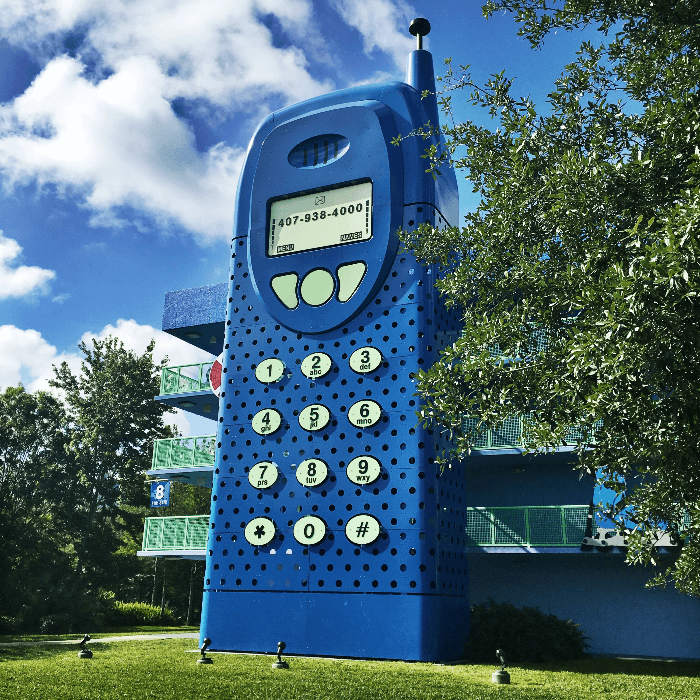 Disney Magic Walt Disney World Resorts Pop Century Cell Phone