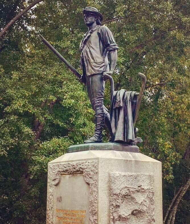 The Minuteman Statue