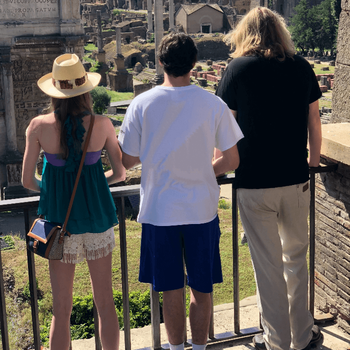Rome 2018 Review Teenagers Roman Forum