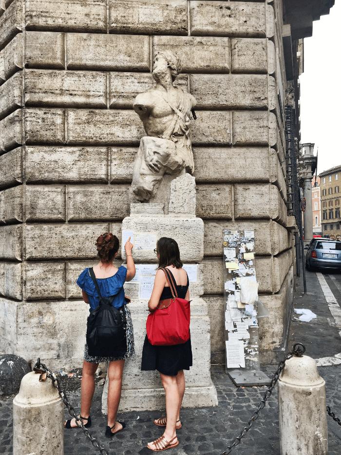 Rome Talking Statues