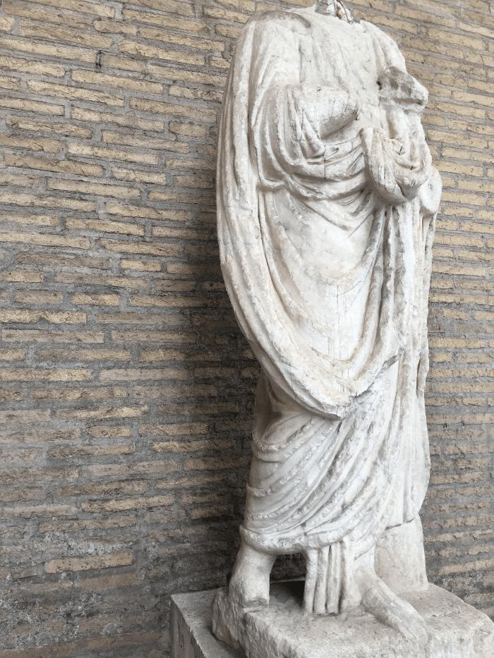 Roman Sculpture of Abbot Luigi