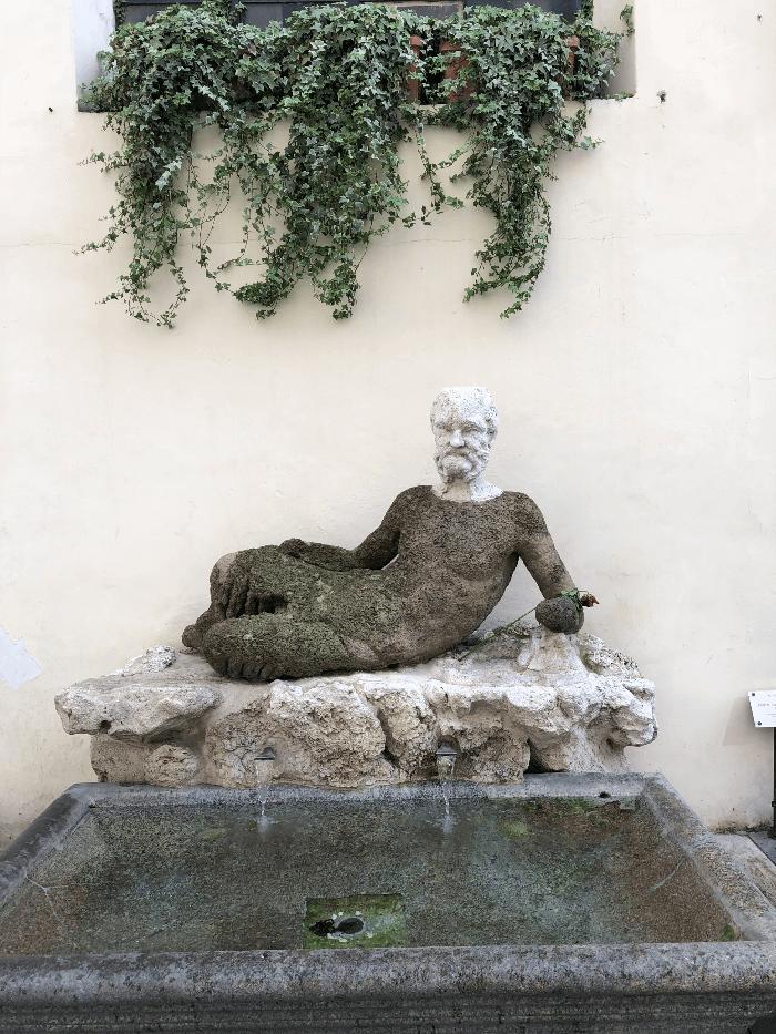 Roman Sculpture of Il Baubino