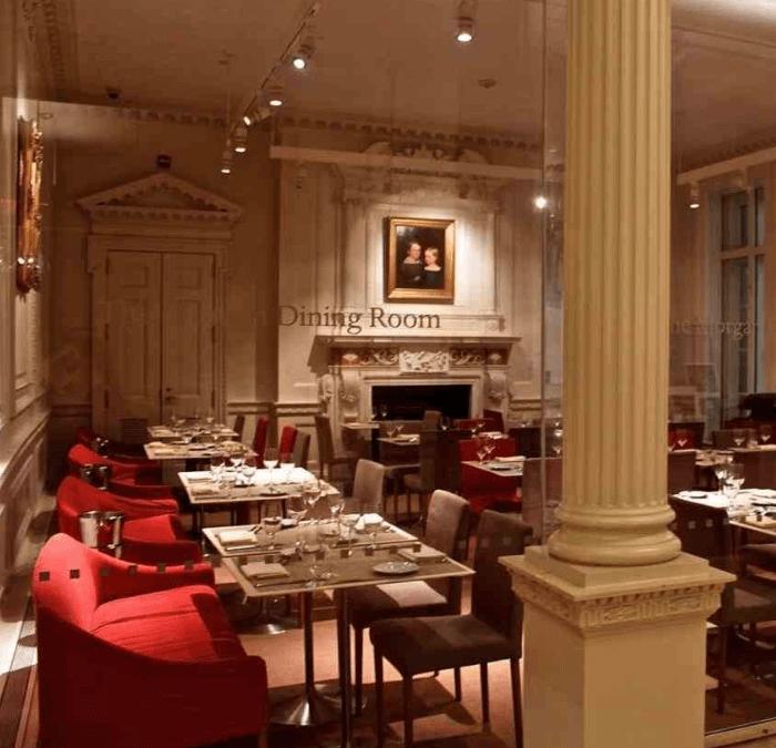 Lovely Intimate Museum Restaurant