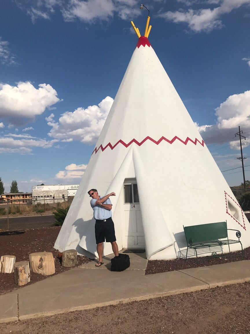 Celebrate National Get Funky Day Tee Pee Motel