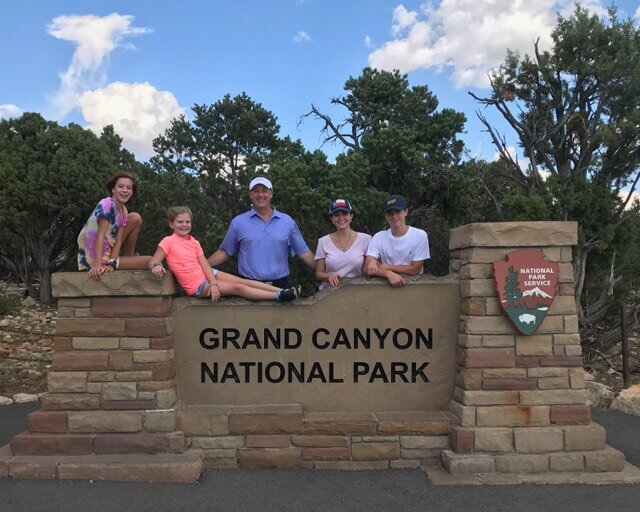 Family Travel Grand Canyon Roadtrippers