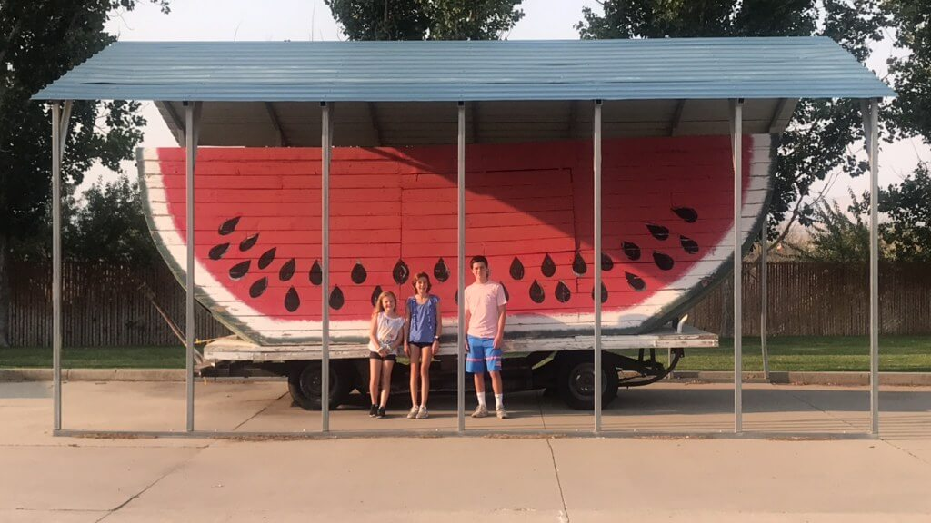 the world's largest watermelon