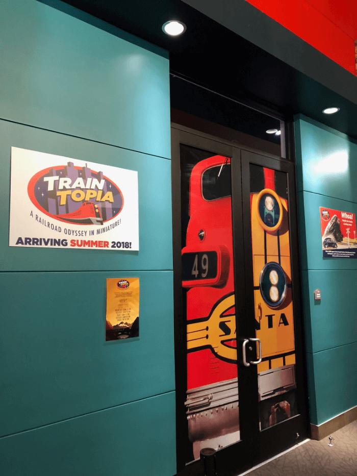 Frisco Discover Center Train Topia entrance