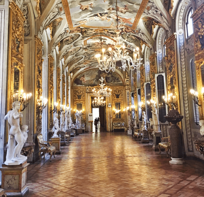 A Visit to an Opulent Roman Palace:  The Beautiful Palazzo Doria-Pamphilj