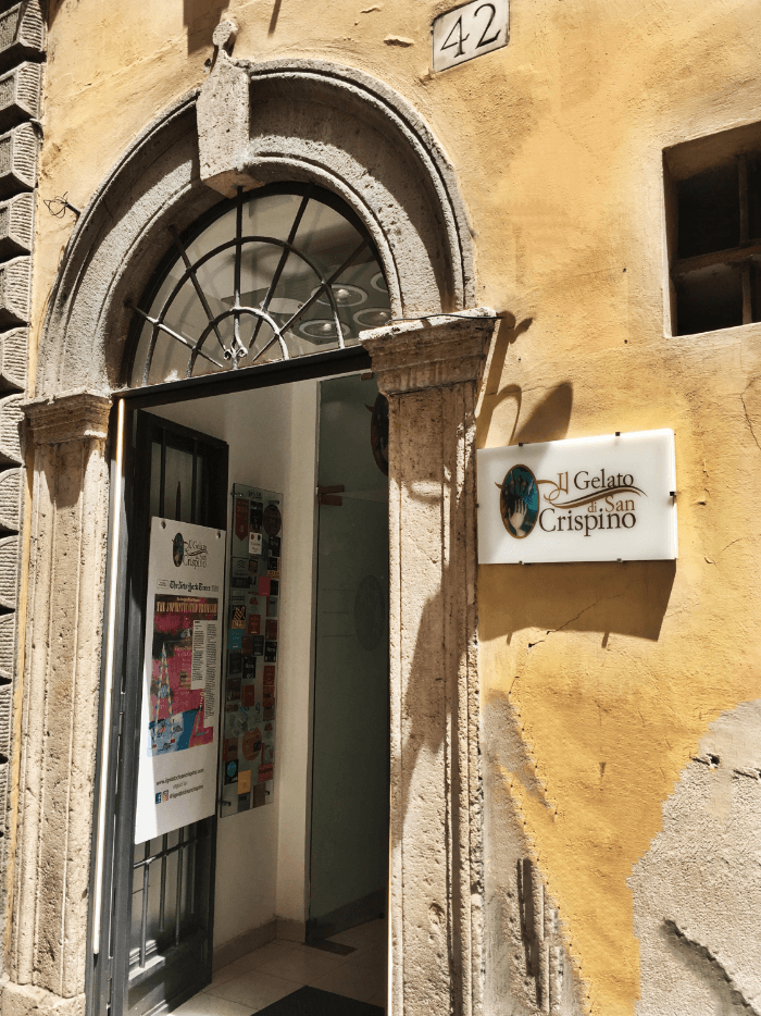 Gelato vs. Creme Brulee Il Gelato de San Crispino Rome