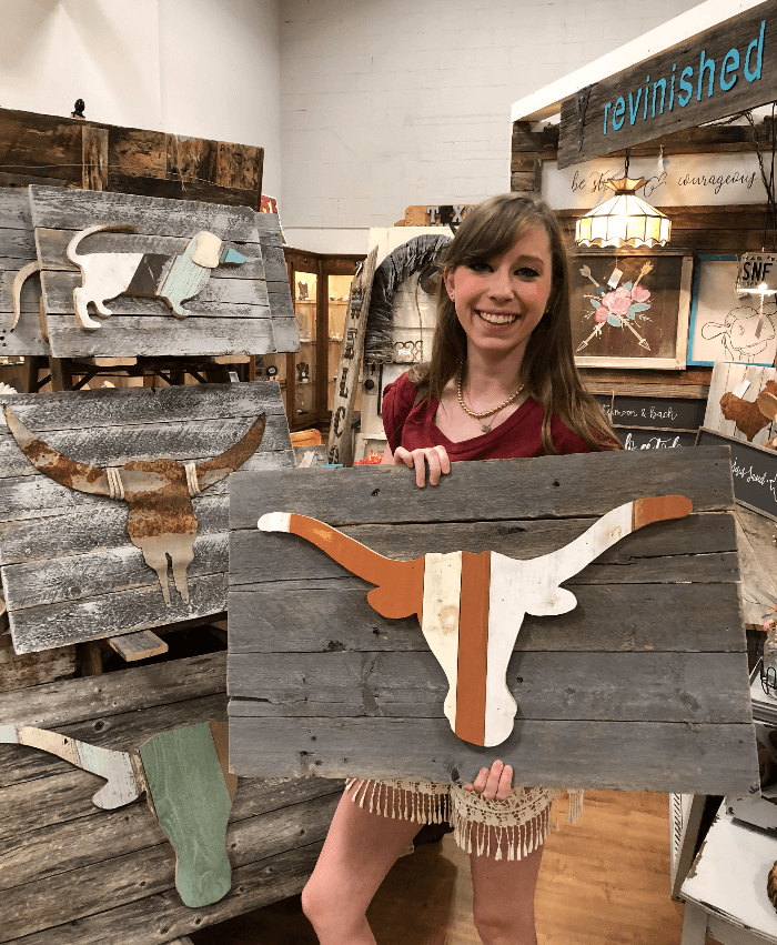 Getting College Ready Revinished at Lone Star Mercantile