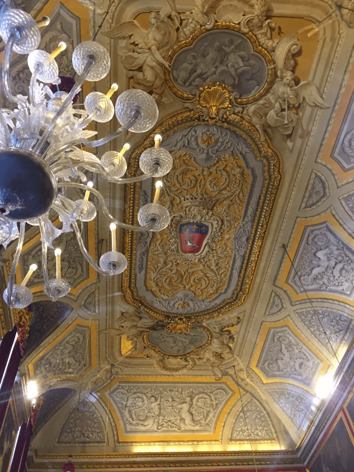 Beautiful Palazzo Doria-Pamphilj Ceiling detail