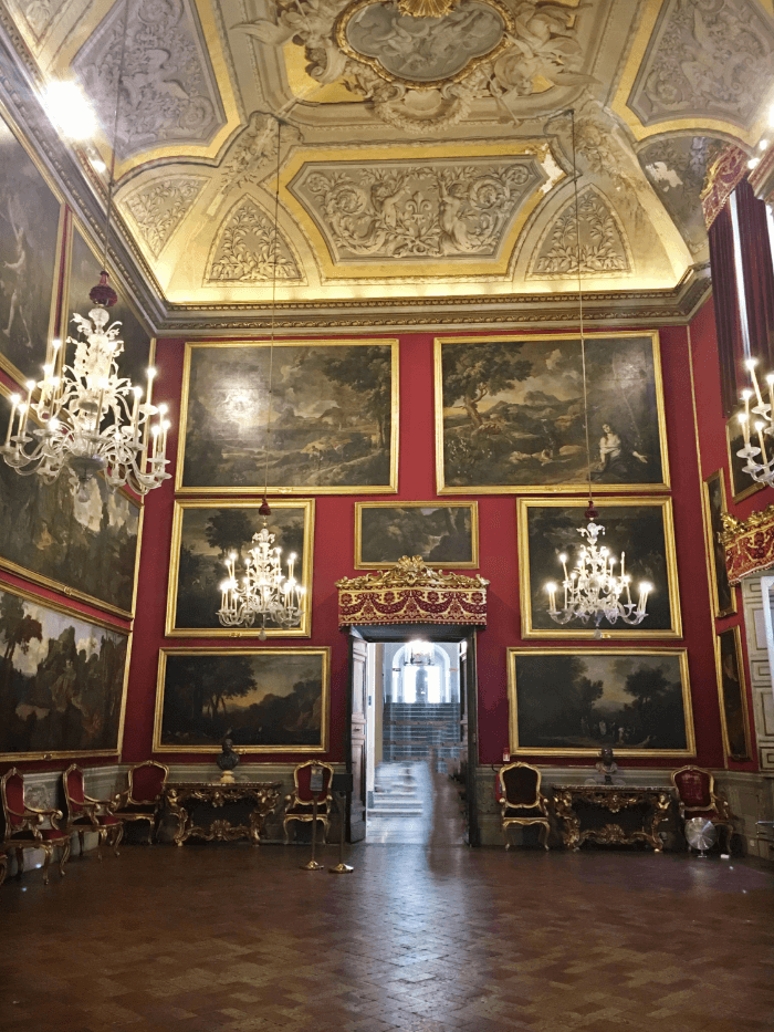 Beautiful Palazzo Doria-Pamphilj Red Room