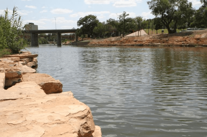 Quirky Texas Concho River