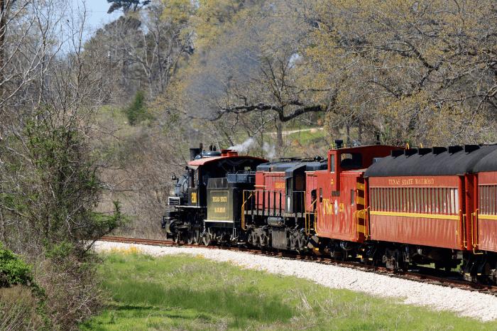 Quirky Texas Historic Texas Railroad
