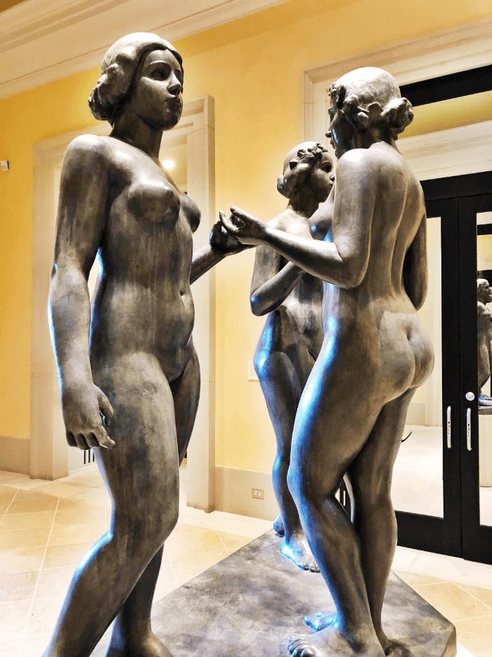 Dali Bronze of Three Girls