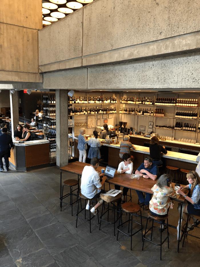 Madison Avenue MET Breuer Cafe
