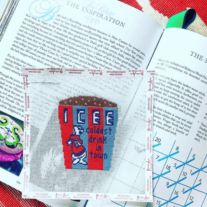 Sophistication is Overrated with needlepoint icee canvas