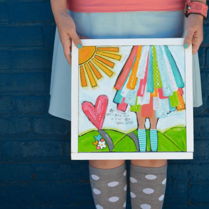 Brave Girls Art Example