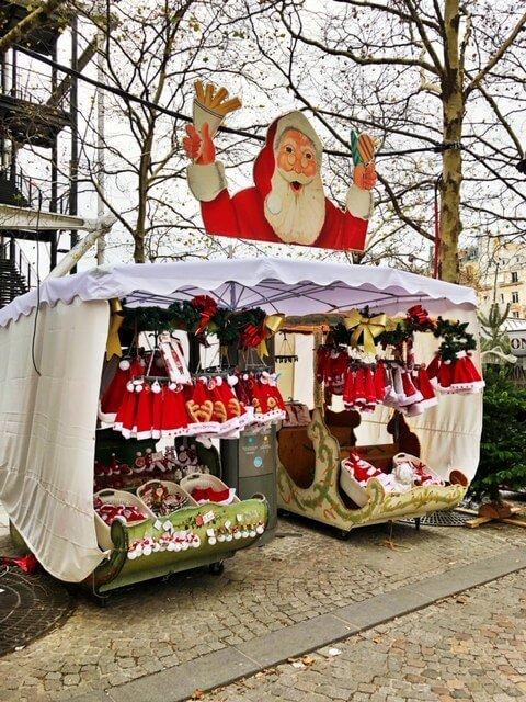 Centre Pompidou Christmas Market