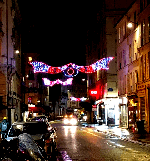 Christmas in Paris Lights