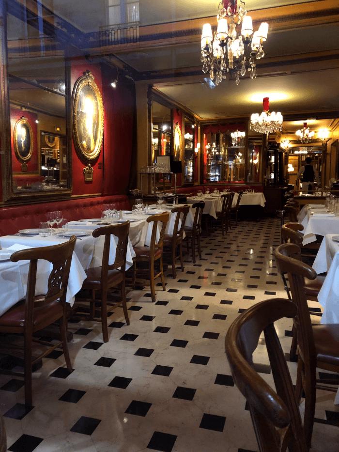 Paris Restaurant Guide Restaurant Interior