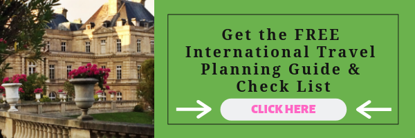 International Travel Planning Guide and Check List