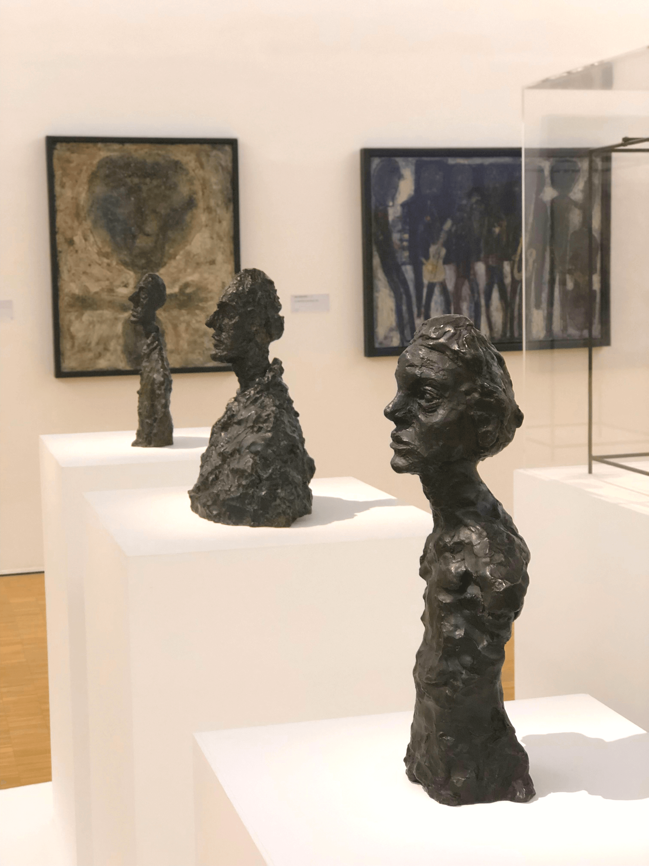 Centre Pompidou Giacometti sculptures
